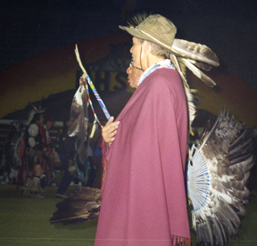 Horace & Hetty Dancing at the Pow Wow